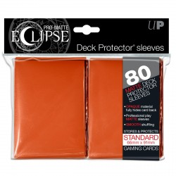 Ultra Pro - Pro-Matte Eclipse Standard 80ct Sleeves - Orange