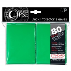 Ultra Pro - Pro-Matte Eclipse Standard 80ct Sleeves - Green