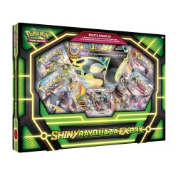Pokemon - Shiny Rayquaza EX Box