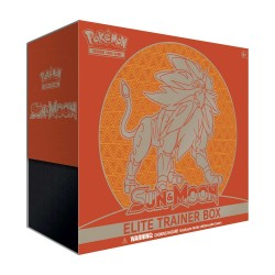 Pokemon - Sun and Moon Elite Trainer Box - Solgaleo