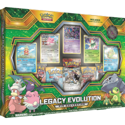 Pokemon - Legacy Evolution Pin Collection