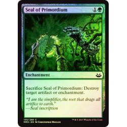 Seal of Primordium - Foil
