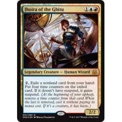 Jhoira of the Ghitu - Foil
