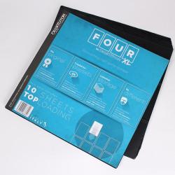 DeckTutor - FOUR XL Sheets - Top Loading 10-Pack