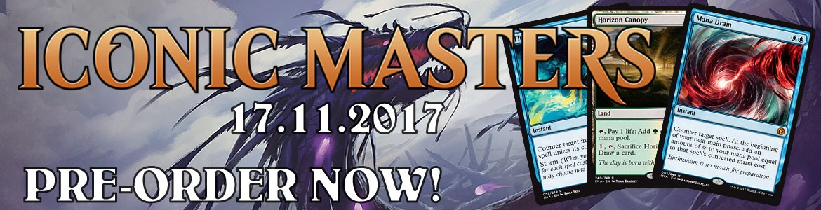 Iconic Masters Preorder