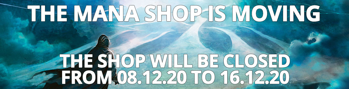 The Mana Shop Is Moving