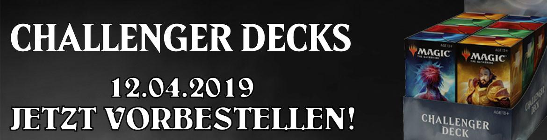 Challenger Decks 2019 Preorder