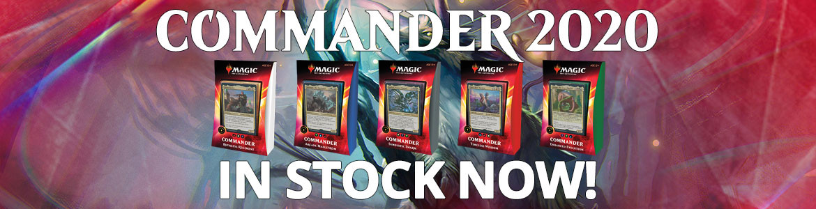 Commander 2020 In Stock